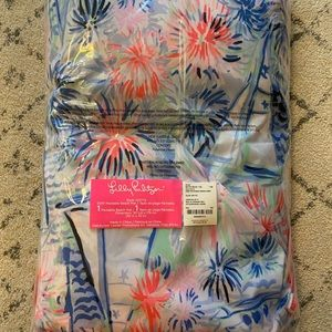 Lilly Pulitzer Packable Beach Mat BNWT